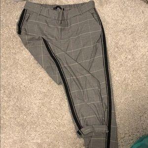 Zara Plaid Business Pants